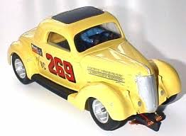 in their 1965 catalog monogram called this car the racing 36 ford coupe it sold for 6 98 and was complete with 106 precision engineered parts