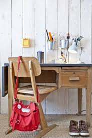 Vintage Wood Kids Desk