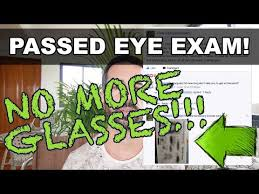California Dmv Eye Chart Fixed Eyesight Dmv Vision Test Passed No More Glasses
