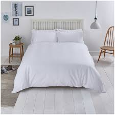 sainsbury s home scollop embroidery white bed linen