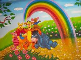 Hyderabad School Cartoon Wall Paintings or Art.By vijay bhaskar. - YouTube