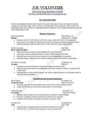 Community Service Officer Sample Resume Community Service On Resume Munity Service Examples For Resume Best 18