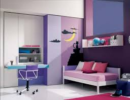 Purple Decorations For Living Room Interior Great Purple Theme Home Decoration With Fabric Sofa In