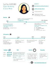 short simple resume examples cynthia dubourd resume short creative simple version cv