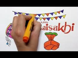 Baisakhi Chart Ideas Baisakhi Festival 2019 Drawing How To Draw Baisakhi