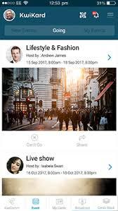 Digital Business Card App Digital Visiting Card Webinar App