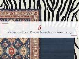 5 reasons your room needs a washable area rug for your rustic style home