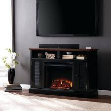 media console with fireplace porch amp den black media console fireplace dimplex media console electric fireplace