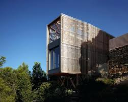 modern wood house the wooden minecraft