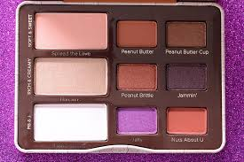 too faced peanut er jelly palette 2