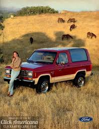 ford bronco ii you can wear it anywhere cars schools ford bronco ii you can wear it anywhere 1986 cars schools and sticks