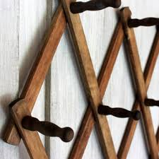 Expandable Wooden Coat Rack Best Vintage Wood Coat Rack Products On Wanelo 3