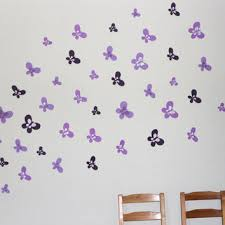 45 purple shades erfly wall decor handmade wall decor baby room wall decal
