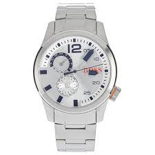 men s hugo boss orange paris multi dial bracelet watch 1513148