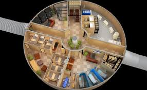 Is it time to get a bunker    On The BlockThe lower floor of a Vivos shelter