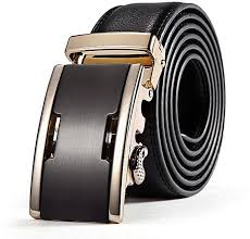 product images gallery fashion male solid leather automatic buckle wide belt