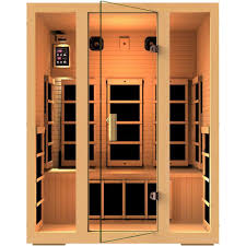 JNH Lifestyles Joyous 3-Person Far Infrared Sauna
