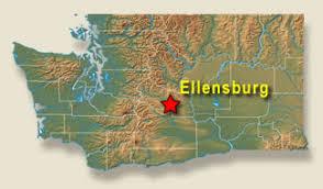 Image result for ellensburg washington map