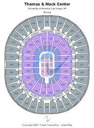 Thomas And Mack Center Seating Chart Thomas Mack Center Tickets And Thomas Mack Center