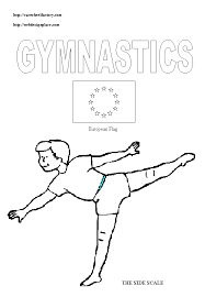Small Picture CWF Rubber Flooring Inc Coloring Book Pages of gymnastic for Kids