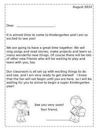 5a05e85b7e15f9b47ec05d285f94d2b7 kindergarten classroom wel e letter from teacher