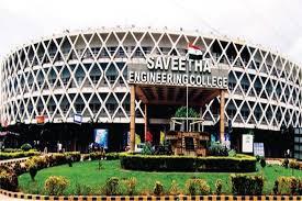 Saveetha Engineering College Chennai Courses Fee Cut
