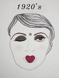 1920 s face chart makeup magdalena mazur drogheda p ie