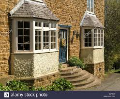 house with bay window. Simple Bay Front Elevation Of Attractive Old Stone House With Bay Windows And Curved  Font Door Steps With House Bay Window E