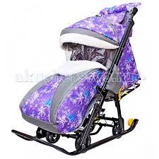 <b>Санки</b>-коляска R-Toys <b>Snow Galaxy</b> Luxe - Акушерство.Ru