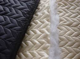 100% Polyester /quilting/ Embroidery/high Quality Quilted Fabric ... & 100% polyester /Quilting/ Embroidery/high quality quilted fabric/  Ultrasonic quilted fabric Adamdwight.com