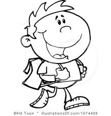 Clipart Child Outline Graphics Illustrations Free Download On