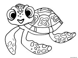 Coloriage Squirt Petite Tortue De Nemo Et Dory Dessin