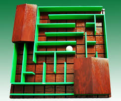 Wooden Maze Games The art maze hobby game maze gallery page for createamaze 18