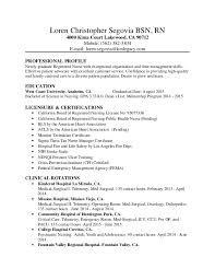 Rn Cv Sample New Registered Nurse Resume Perioperative Nurse Resume