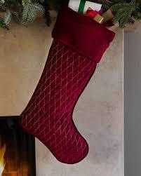 red velvet christmas stockings. Modren Red Forest Green Florentine Quilted Velvet Stocking Alt  And Red Christmas Stockings L