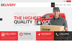 Html5 Website Templates New Delivery Services Responsive Website Template 48