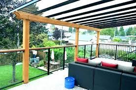 deck canopy ideas awning covers for decks wood backyard diy gazebo c