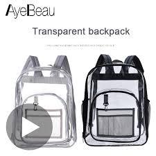 School Feminina <b>Bag</b> Children Mini Small <b>Clear Transparent</b> ...