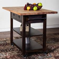 Ingenious Ideas Drop Leaf Kitchen Cart Island Outofhome