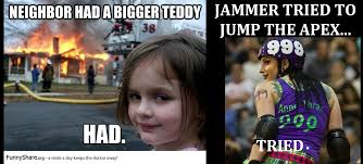 Talk derby to me: Roller derby memes ... had to be done via Relatably.com