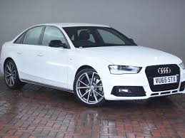audi a4 2015 white. Unique White AUDI A4 20 TDI 190 BLACK EDITION Heated Seats Sat Nav 4DR  Intended Audi 2015 White