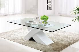 Contemporary Glass Top Coffee Tables Furniture Contemporary Modern Round Coffee Table With Round