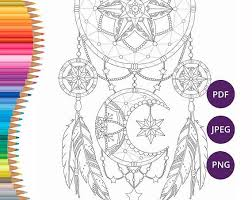 Books About Dream Catchers Dreamcatcher coloring pages Adult coloring book printable Pagine 78