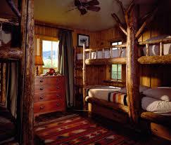 Rustic Cabin Bedroom Decorating Cabin Cabin Decorating Idea In Rustic Bedroom With Bed And