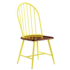 Shanilee Side Chair Set Of 2 Yellow Yellow Side Chair C57