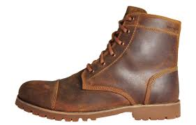 wolverine wilbur men s brown leather waterproof lace up boots