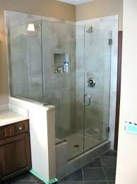 frameless shower cost shower cost glass custom doors vs semi worth the glass shower enclosures cost