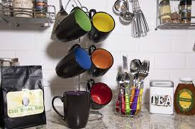 Happy rainbow flag colors to brighten any kitchen at home, apartment, dorm or. Rainbow Multicolor Hand Glazed Ceramic Stoneware Americano Stacking Coffee Mug Set With Metal Stand Gypsy Color 8 Oz