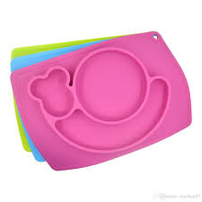 baby placemat platetray suction patterns silicone placemats