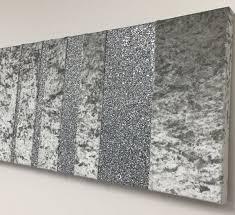 plain ideas glitter wall art beautiful designer barcode and crushed velvet wallart